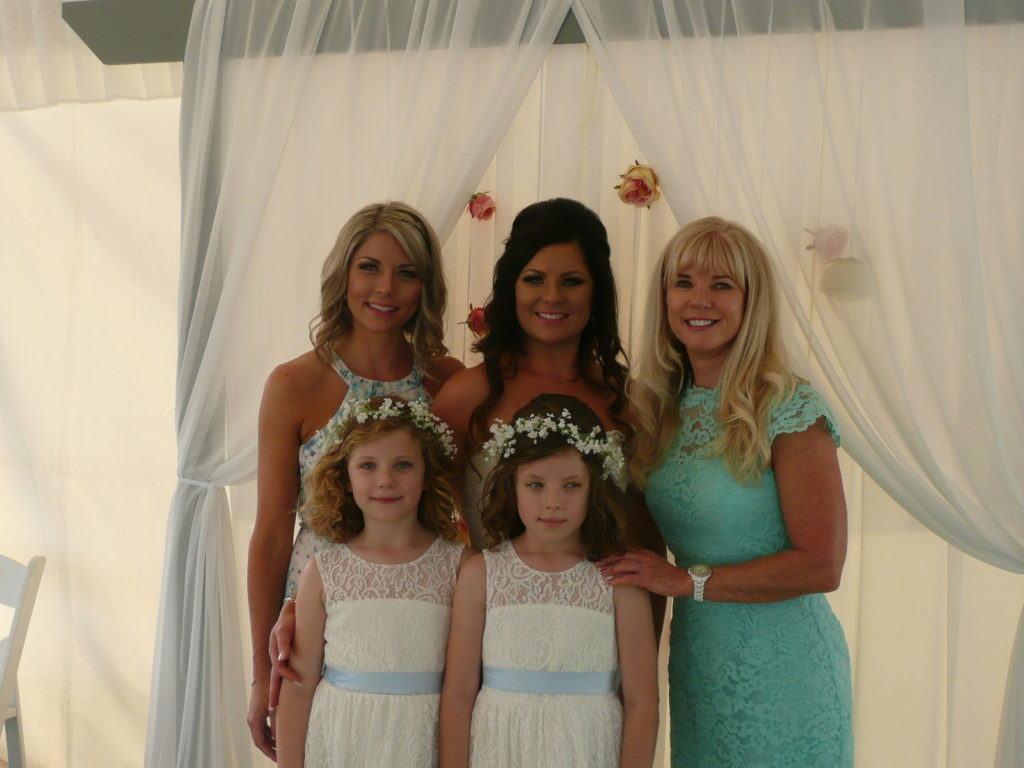 Ali's wedding photo