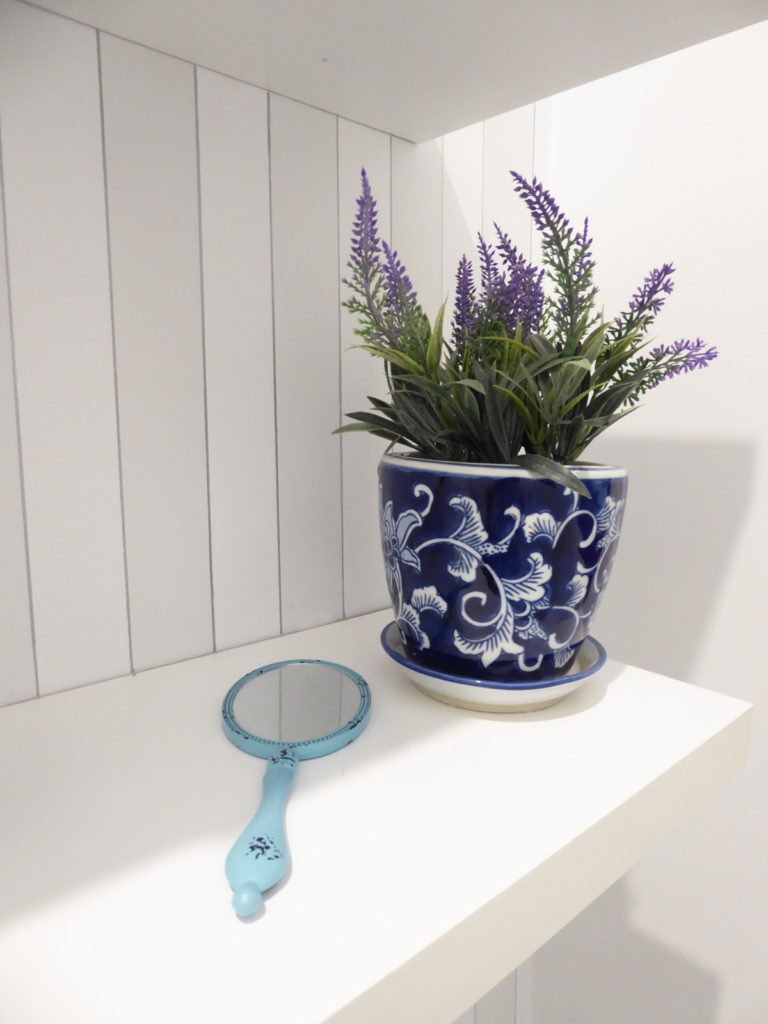 kids toilet homewares and shelving detail after renovation