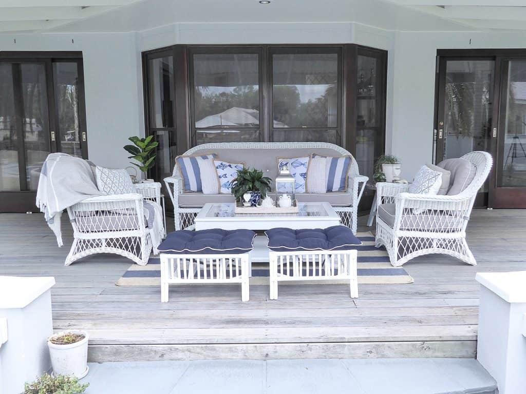 verandah outdoor lounge after photos whole verandah