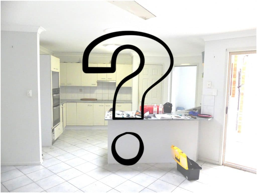 Tewantin kitchen after renovation... Stay tuned!