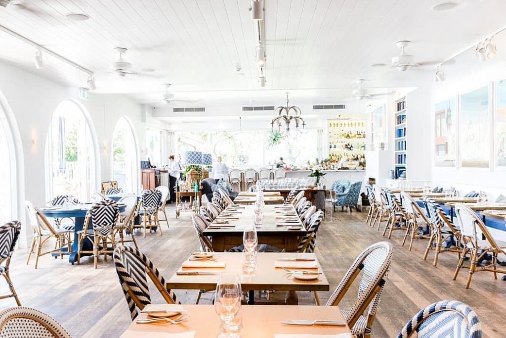 paper daisy dining room halcyon house byron bay getaway