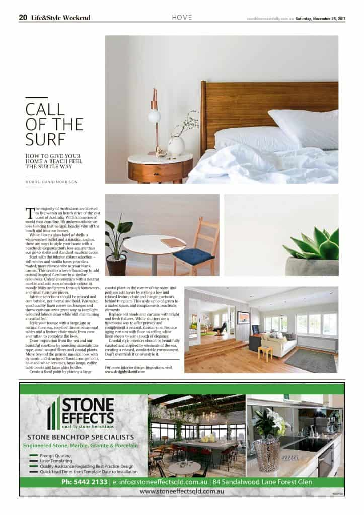 The Sunshine Coast Daily weekend edition Life and Style magazine - Call of the Surf