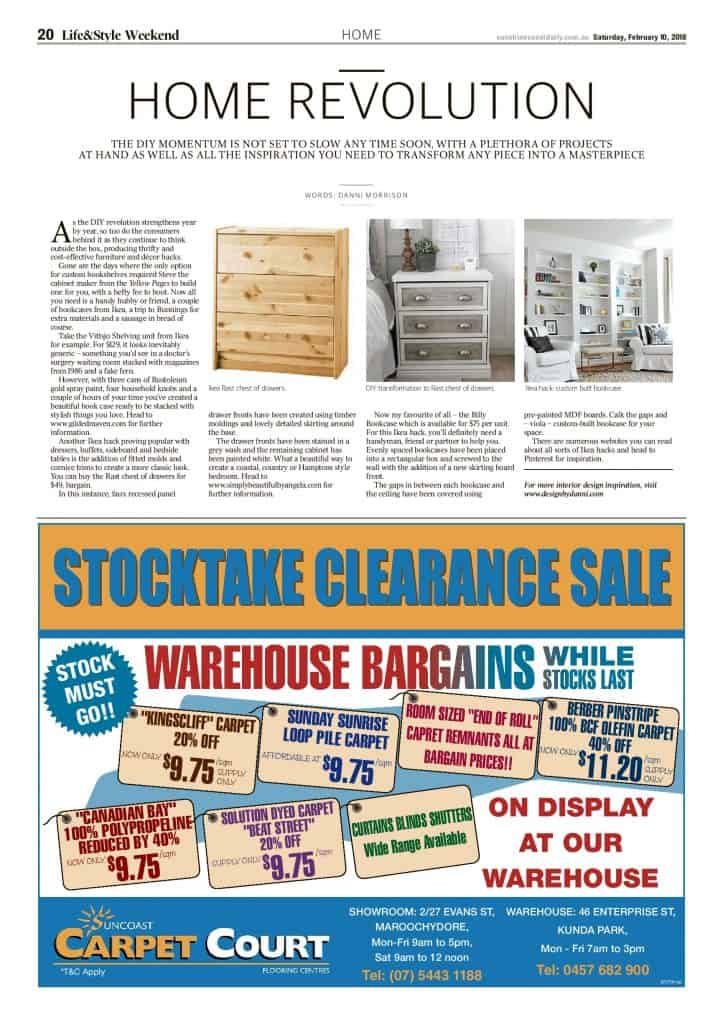 The Sunshine Coast Daily weekend edition Life and Style magazine - Home Revolution