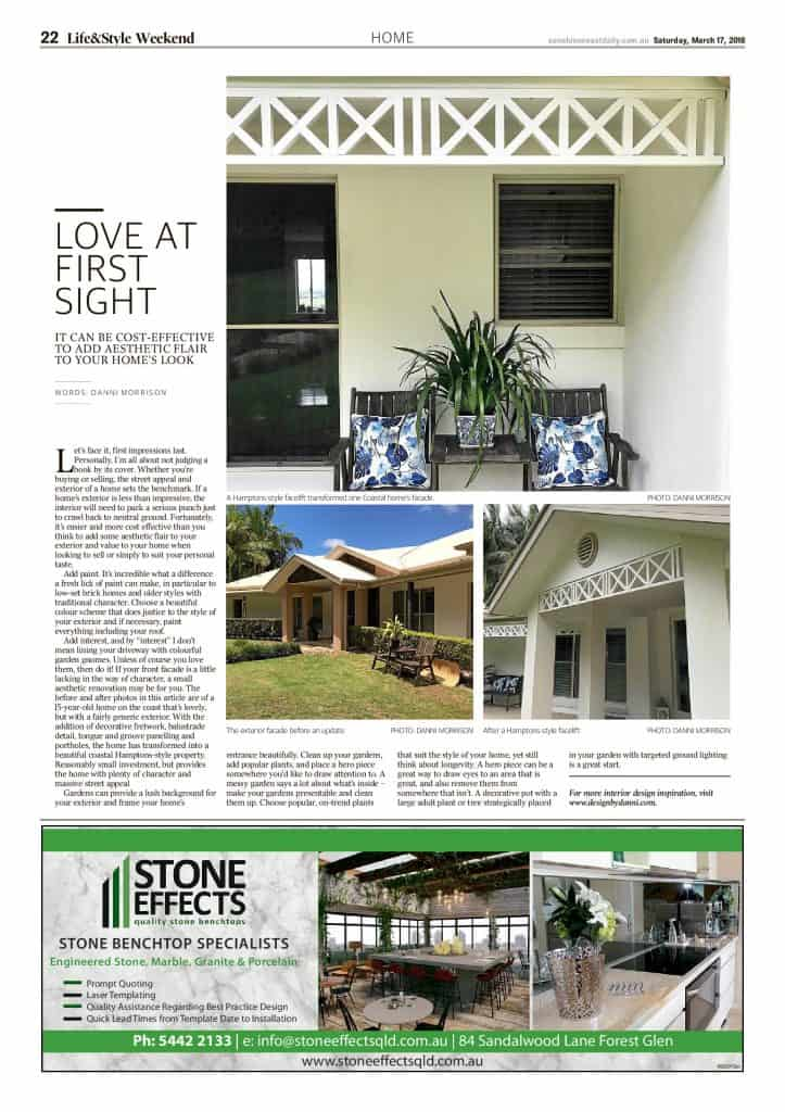The Sunshine Coast Daily weekend edition Life and Style magazine - Love at First Sight
