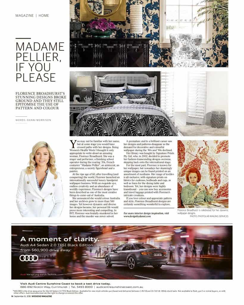 The Sunshine Coast Daily weekend edition Life and Style magazine - Madame Pellier if you please