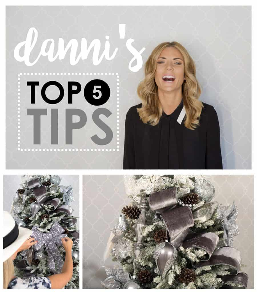 Balsam Hill Christmas Collaboration - Danni's top 5 tips on decorating a christmas tree