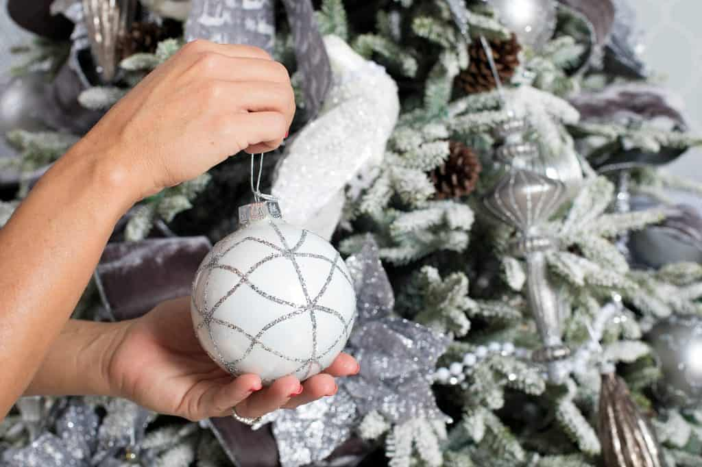Balsam Hill Christmas Collaboration - tree decoration detail