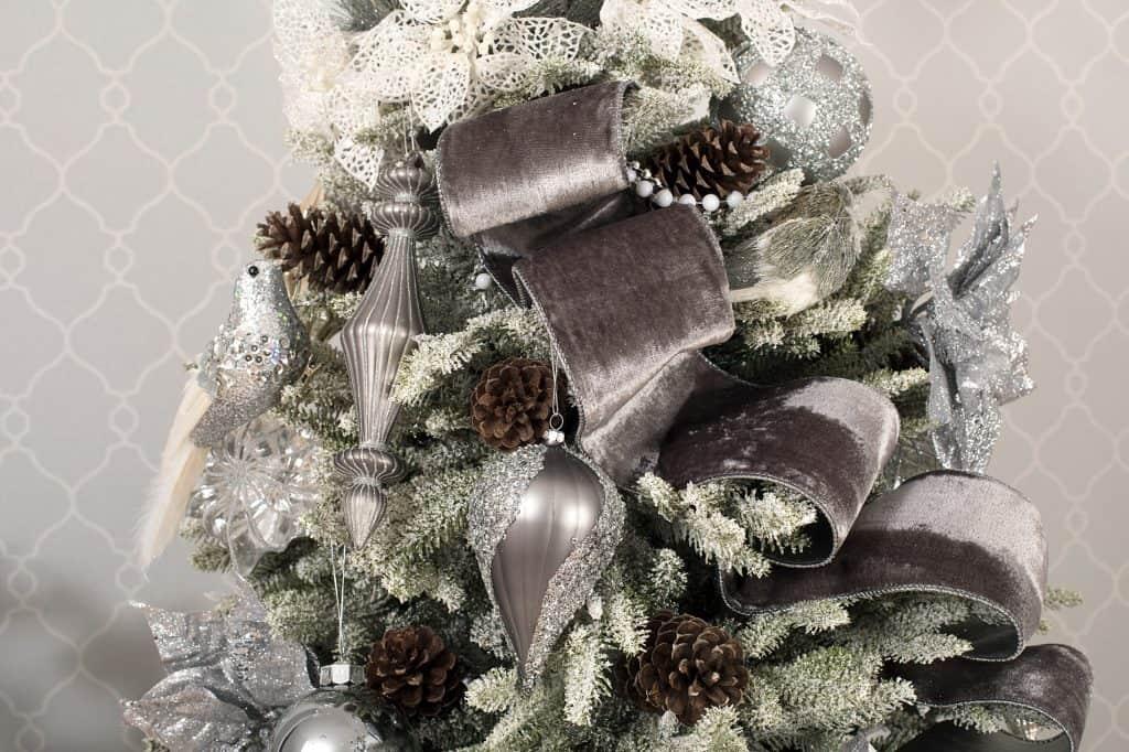 Balsam Hill Christmas Collaboration - christmas tree detail