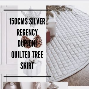 Balsalm Hill Christmas Home Tour Regency Dupioni Quilted Skirt