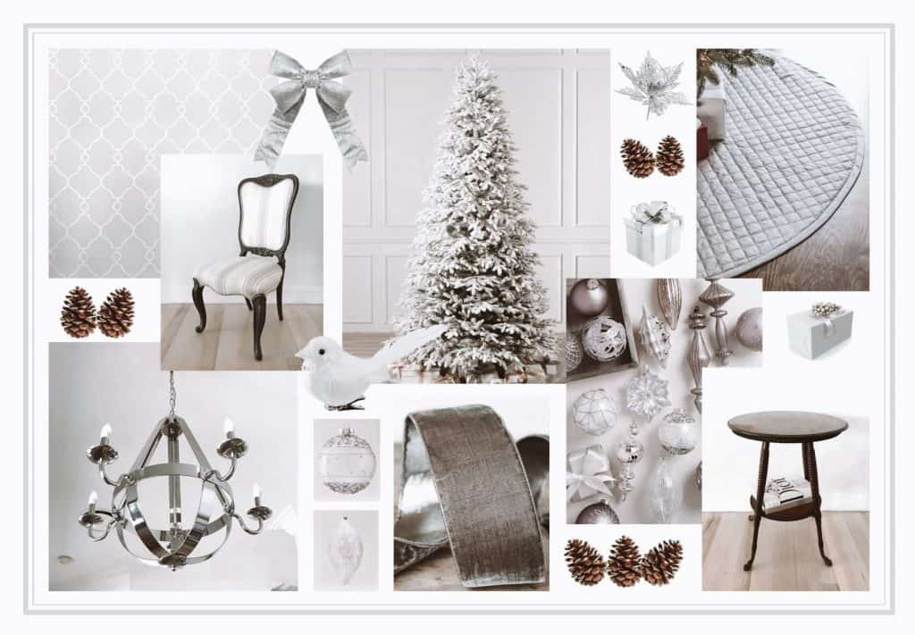 Balsalm Hill Christmas Home Tour Style Moodboard
