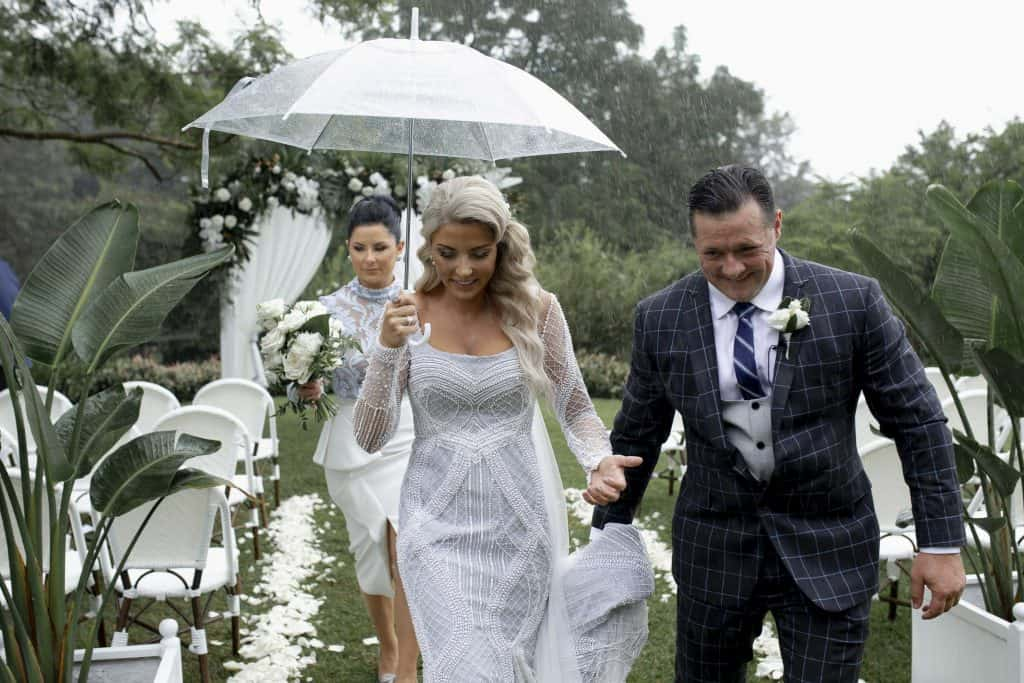 Final wedding blog - the ceremony was rained out